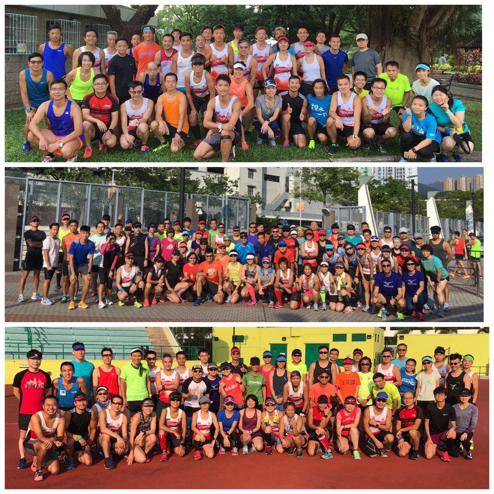 長課訓練 - 10月份本會開始舉辦長課訓練,為同學參與本年度各項本地及海外馬拉松好好準備。10月份3場長課訓練包括九龍仔13K,將軍澳海濱長廊14K及沙田城門河16K,共200多位同學出席。其中將軍澳長課更有Nike Vaporfly 4%及Zoom Fly試鞋活動。