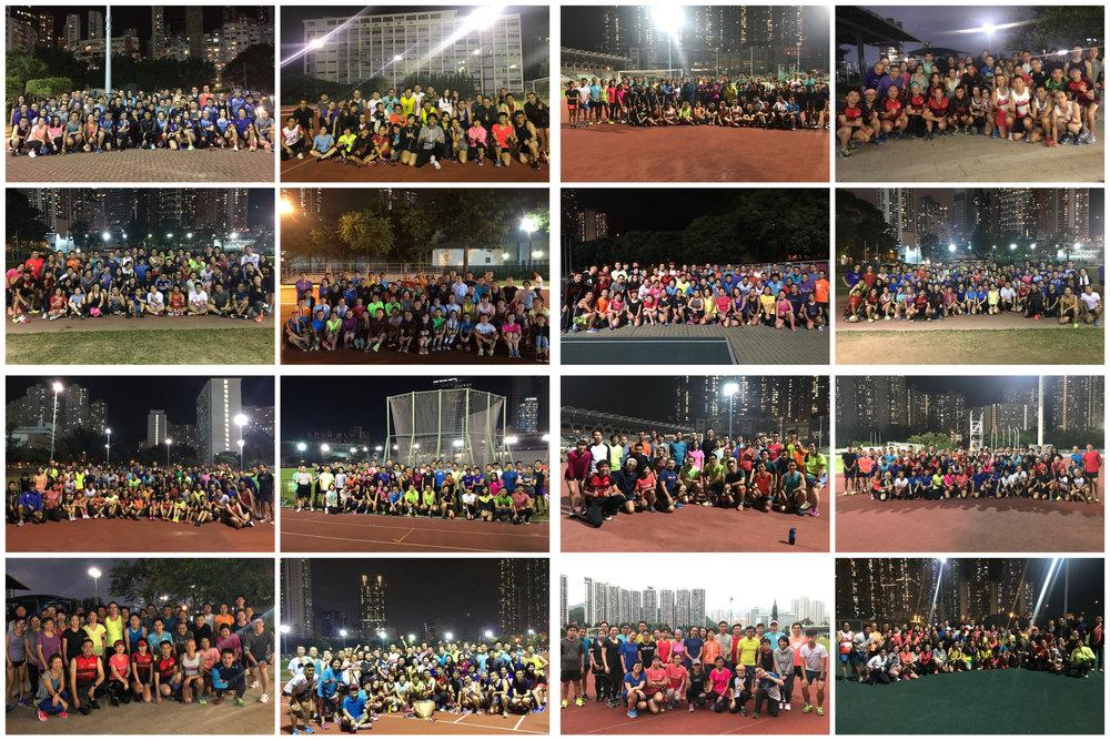 RMAC 第四期長跑訓練班16班全數開班 - 本年第四期訓練班16班已全數開班,現時港島區有4班、九龍區4班、新界區8班,超過1200名學員參與訓練班。各跑友或有興趣參與長跑訓練人士可到http://rmac.hk/courses留低電郵地址及了解本會訓練班及教練團隊,本會將於1月下旬向你提供優先報名表。