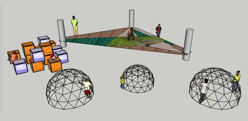 Playspace design concept