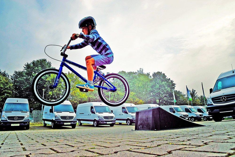 Trick Bikes are all the rage.