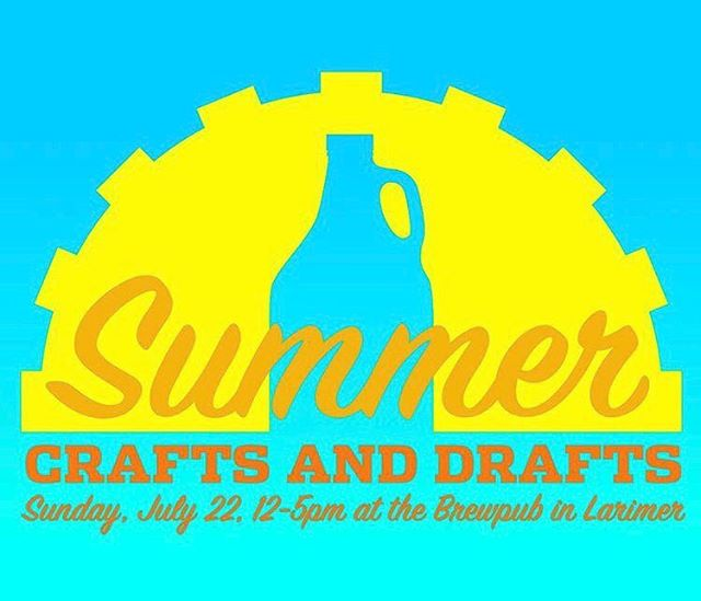 Come visit us this Sunday at @eastendbrewing Summer Crafts and Drafts where you'll find the best craft brews and the best brewed crafts!