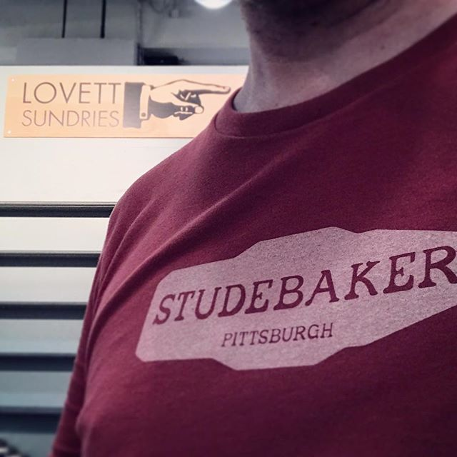Wore my new @studebakermetals T-shirt for good luck while setting up at @ny_now Can't wait to see what the @monmadepgh crew have going on. #smallbusinesscamaraderie . . #apothecary #handmade #cleanliving #madeinpgh #essentialoils #skincare #bodycare #soap #balm #cream #simple #honest #ingredients #shopsmall #beard #allnatural #vegetarian #tradeshow #nynow2018