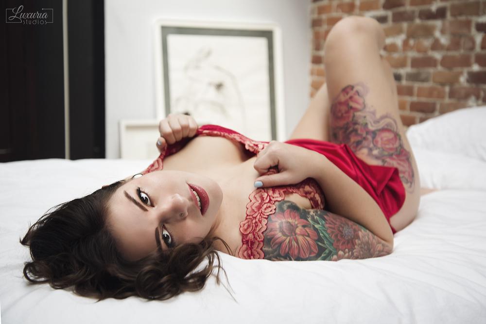 Delilah en rouge 3