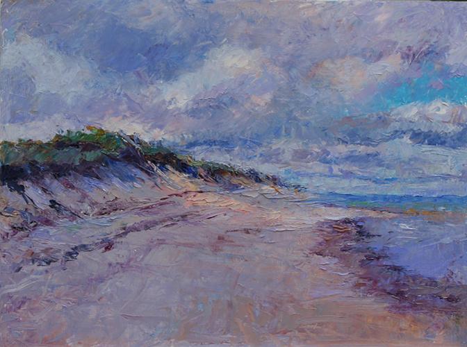 Beach at Corn Hill, 12 x 16