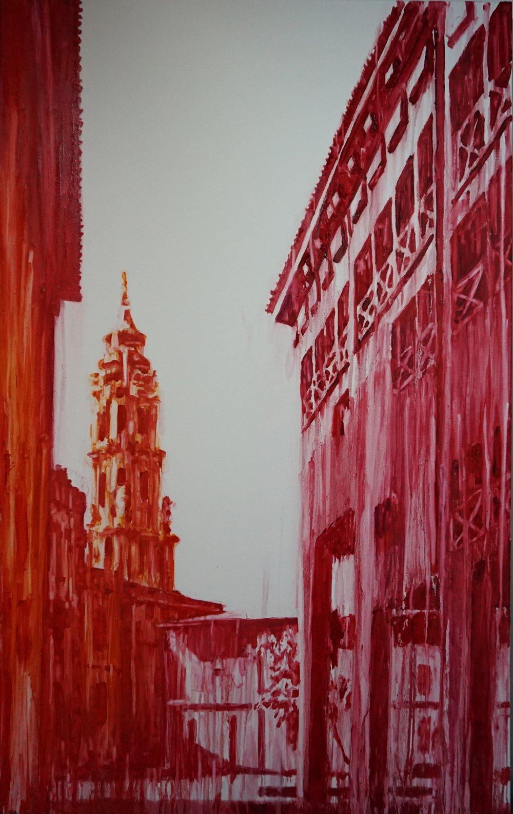 Red, Orange and Carmine