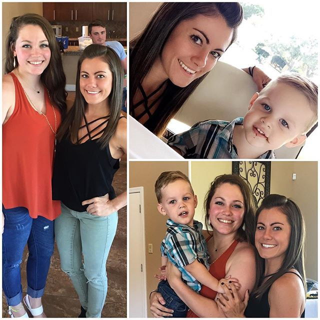 HAPPY BIRTHDAY WILLIAM 🎉 @hailey_nealll I can't believe he is 2 years old! Where does the time go?! ❤️ I'm so happy for all of the time we get together! Love you both! 😘 #Besties
