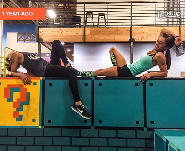 Thank you #TimeHop for this gem from last year! @lyndie_rig 👯💞 Miss you!