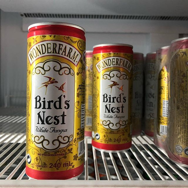 Curious... would you try this drink? Actual bird's nests?