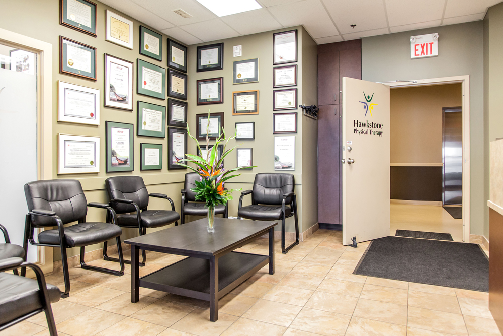 We have a comfortable waiting area for you to relax while you wait for your appointment time.