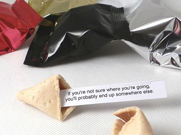 inspirational quotation fortune cookies