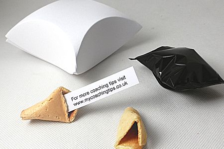 pillow boxes for fortune cookies