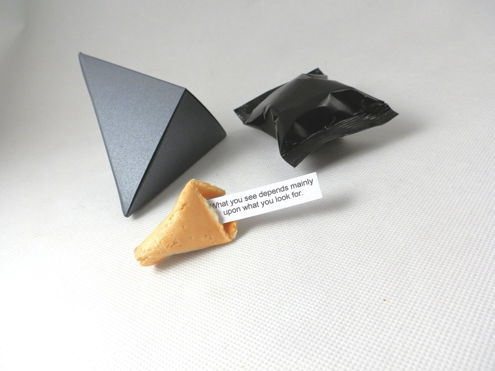 diamond individual fortune cookie boxes