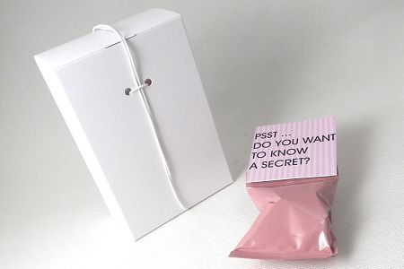promotional fortune cookies - presentation boxes - tall design
