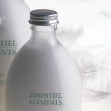 Milk bottles sourced in France.