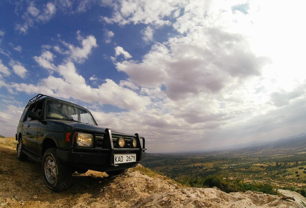 Luanda a-top Kamuthumbu Hill