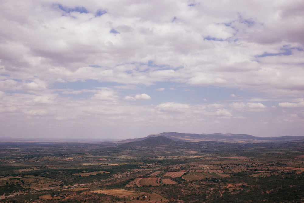The view from Kamuthumbu Hill