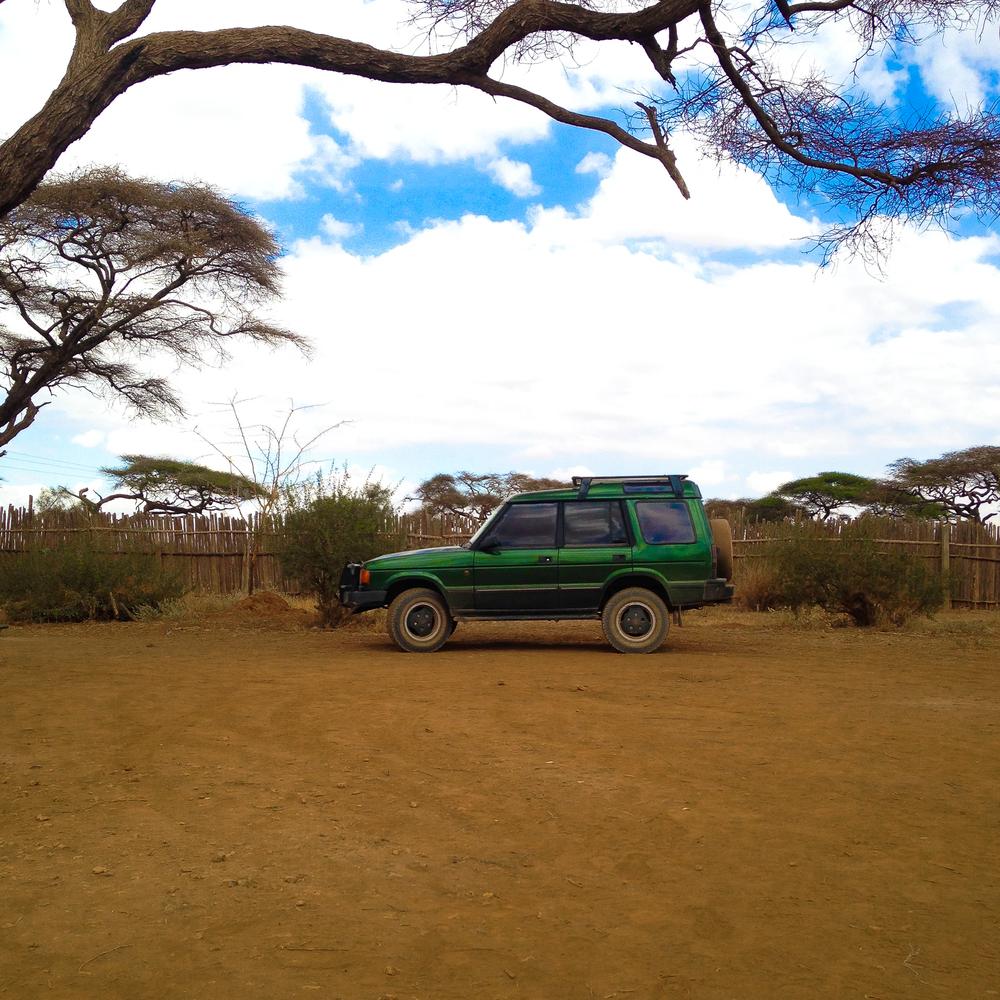 Luanda at camp