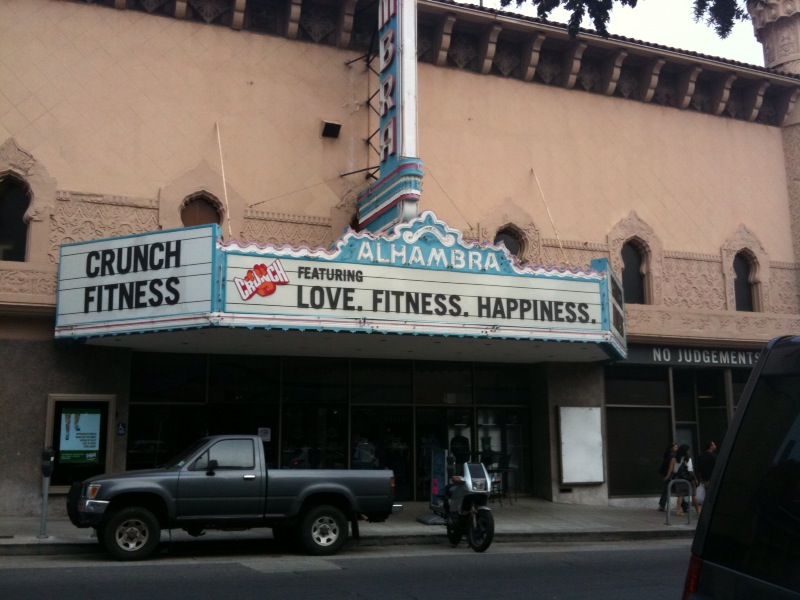 I love this marquee!
