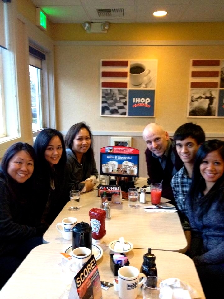 Christmas Day Breakfast at iHop