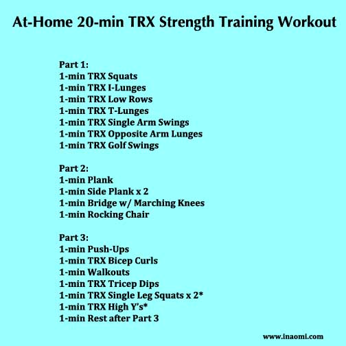 20-min TRX At-Home Workout
