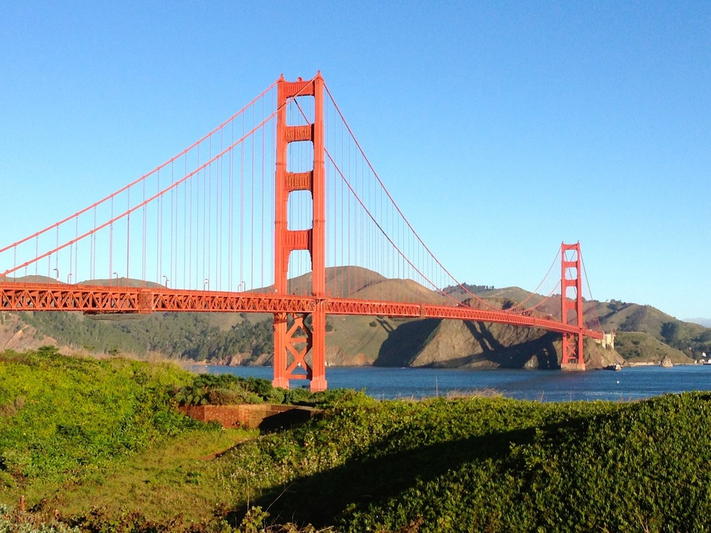 The Golden Gate Bridge in all her glory