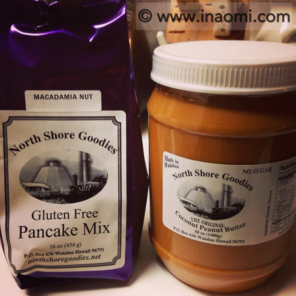 Gluten-Free Macadamia Nut Pancake Mix, Coconut Peanut Butter from http://www.northshoregoodies.net/