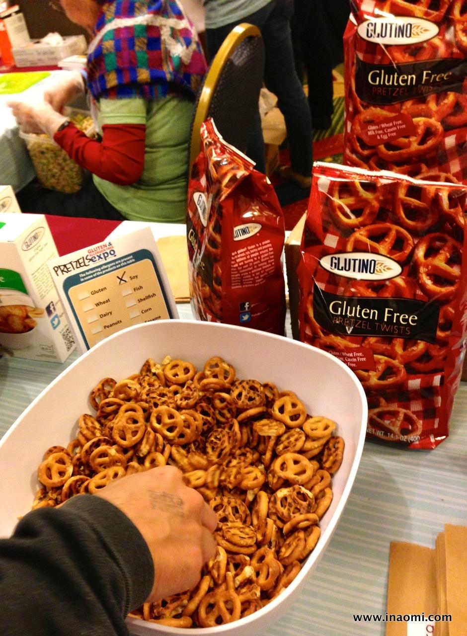 Glutino's pretzels