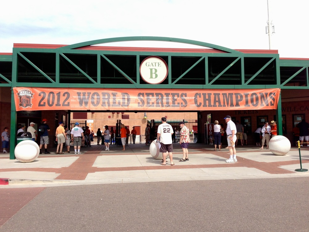 Welcome to Scottsdale Stadium!