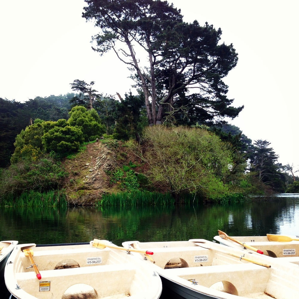 Stowe Lake in Golden Gate Park