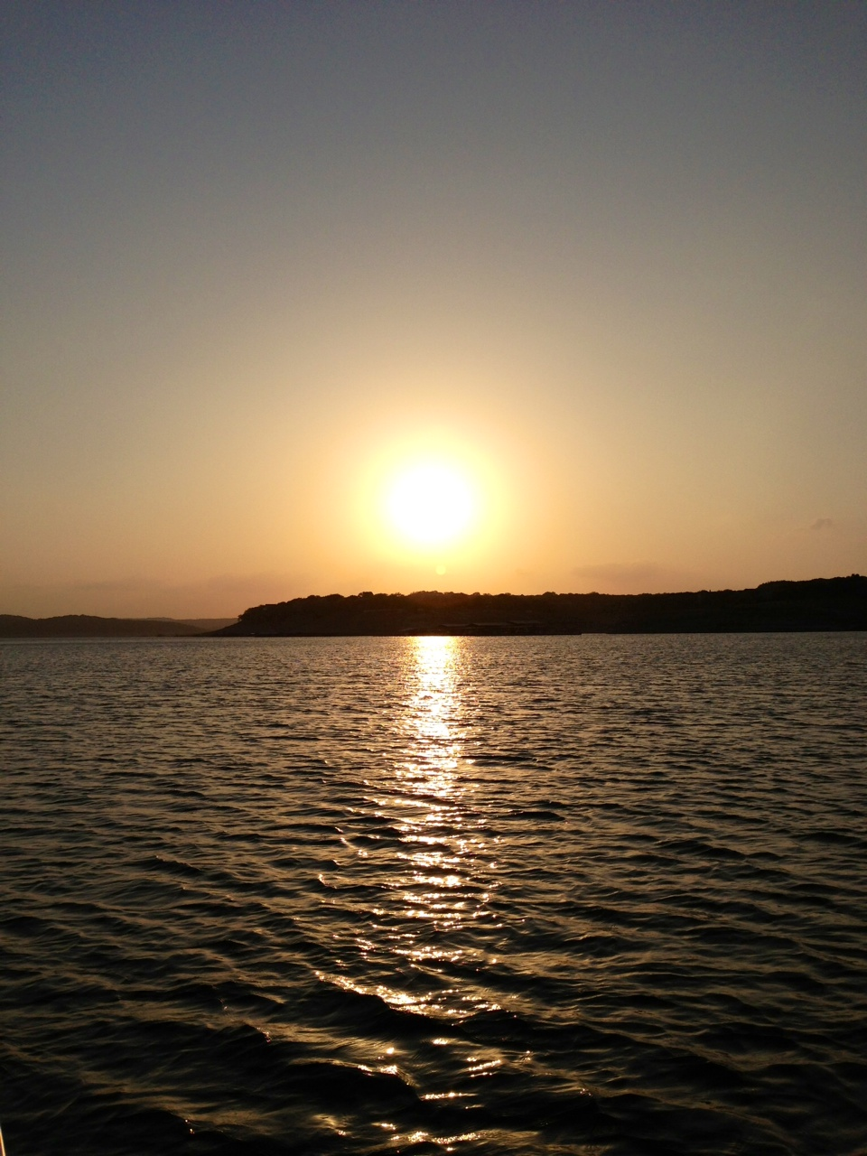 Sunset on Lake Travis