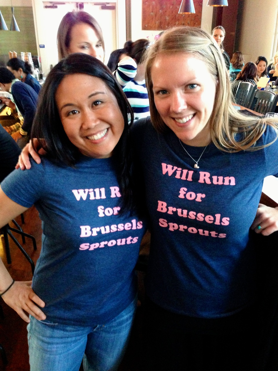 We'll Run for Brussels Sprouts!