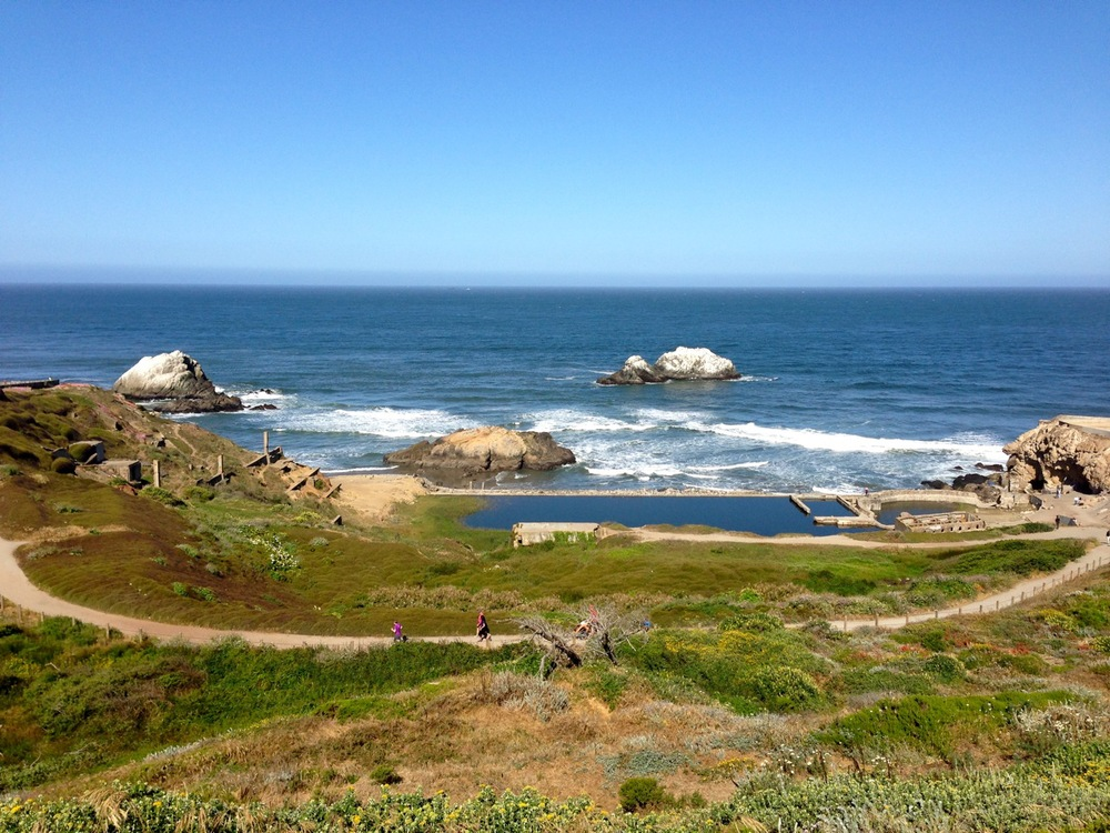The Sutro Baths at Lands End Lookout