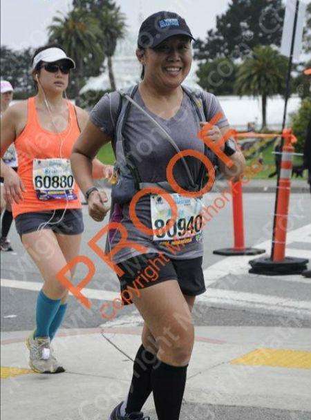 Running in Golden Gate Park