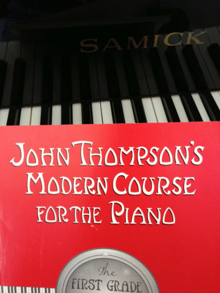 Revisiting piano lessons...