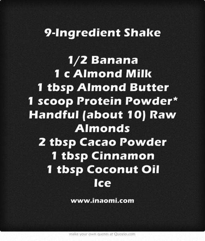 9-Ingredient Shake | The Tao of Me