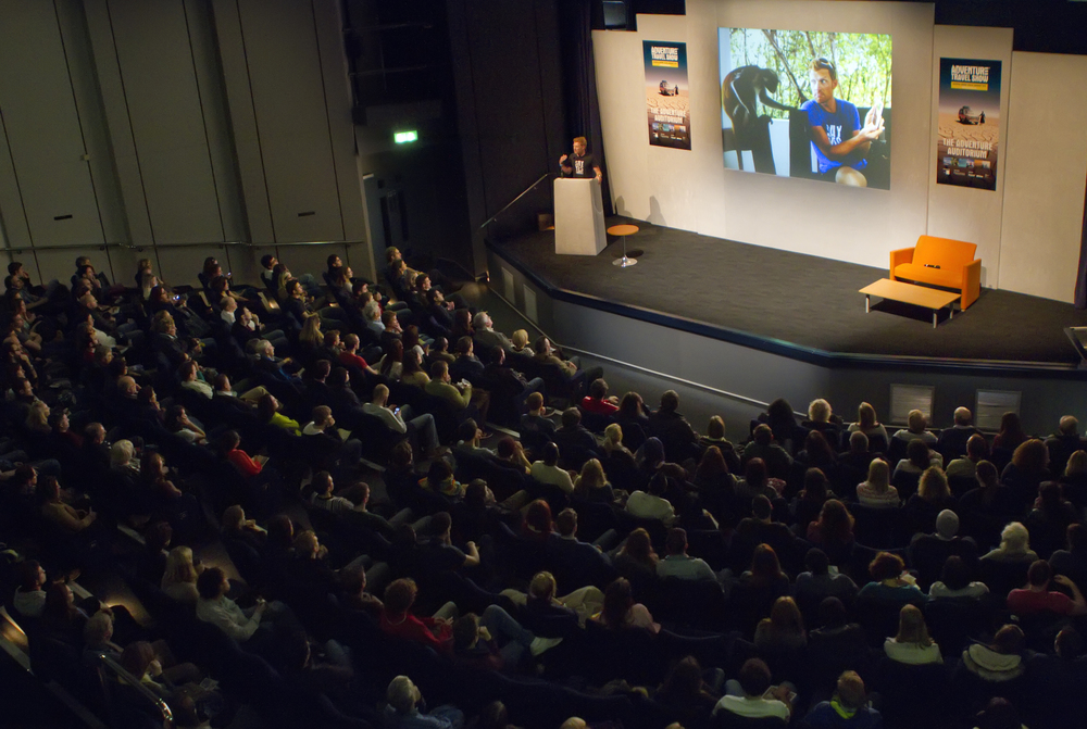 Saturday keynote at the Adventure Travel Show, London - January 2015