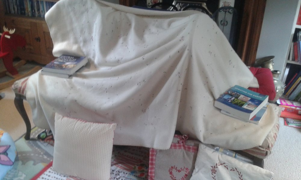 Never underestimate what a few cushions and some blankets can create