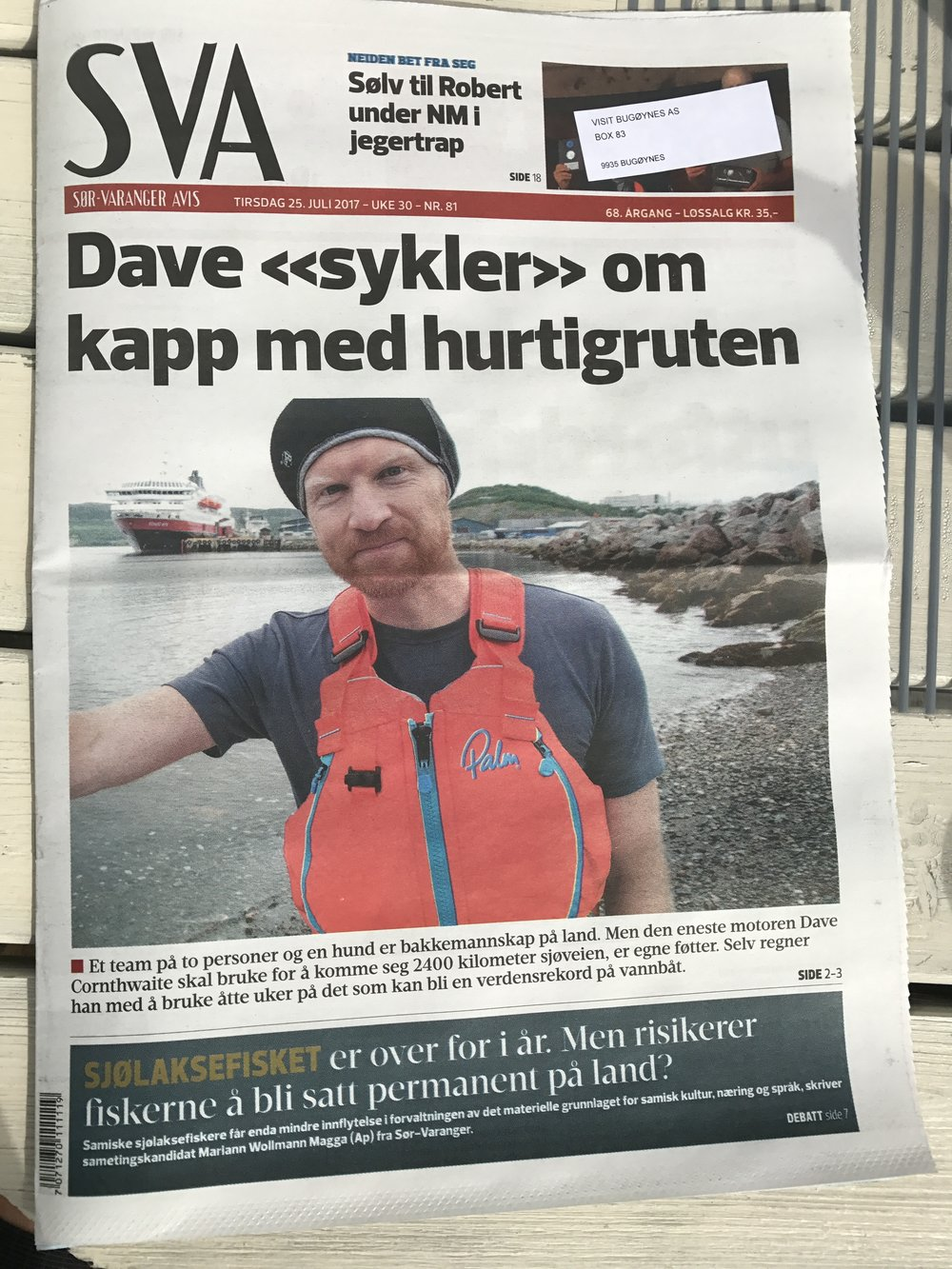 SVA Kirkenes Cover - 25 July 2017.JPG