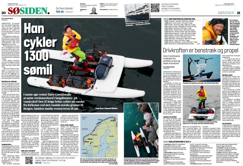 Vandcyklist - Fyns Avis Denmark - 30.9.17.png
