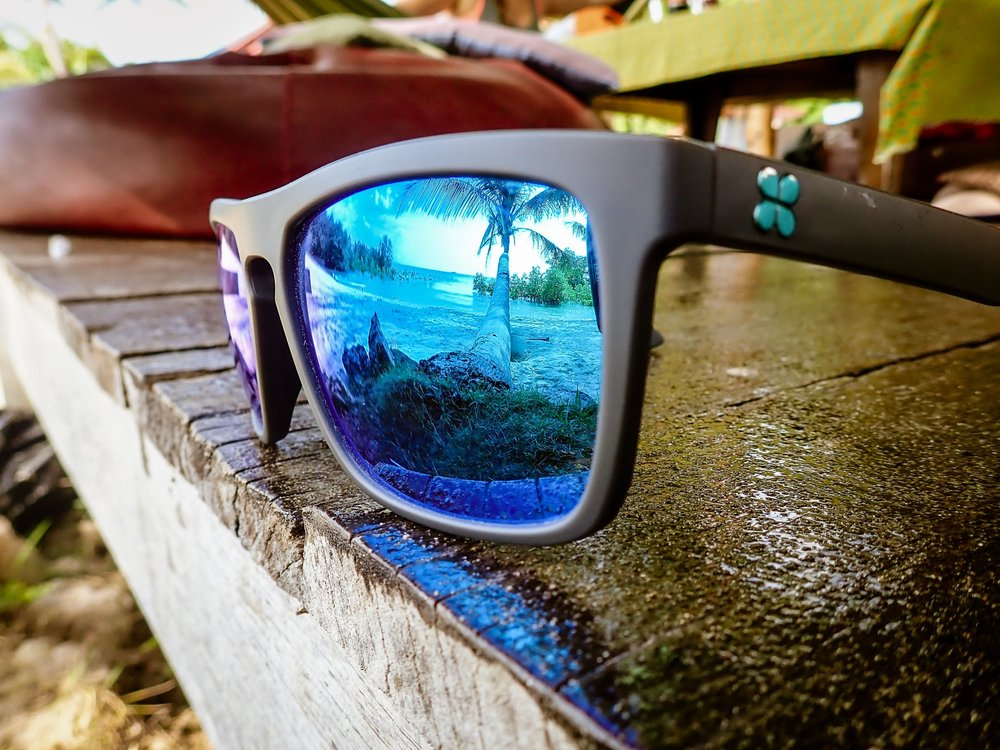 Our sunglasses enjoy their view here