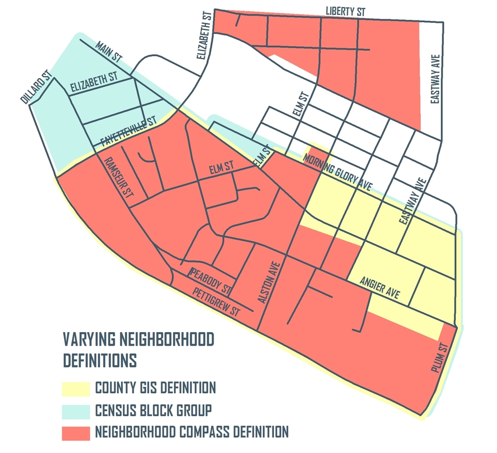 Edgemont Neighborhood Boundaries