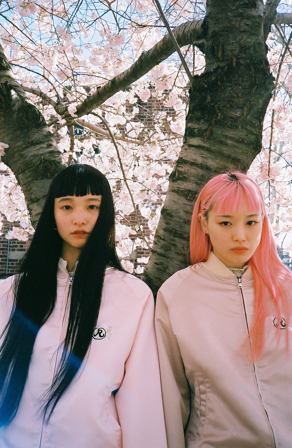 Yuka Mannami and  Fernanda Ly for Richardson;  Featured in Hypebeast