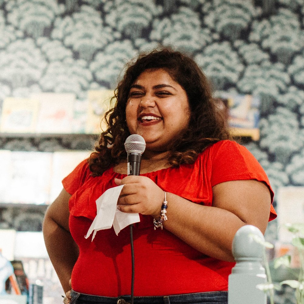 Ameema Saeed   Storytelling Events   Lover of books, Beyoncé and bad puns.