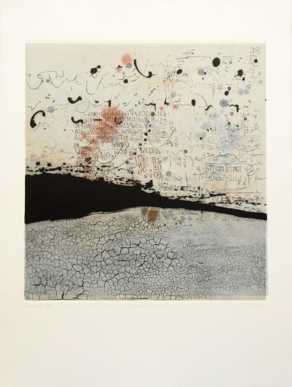 lettre d'amour VII, 76 x 56 cm