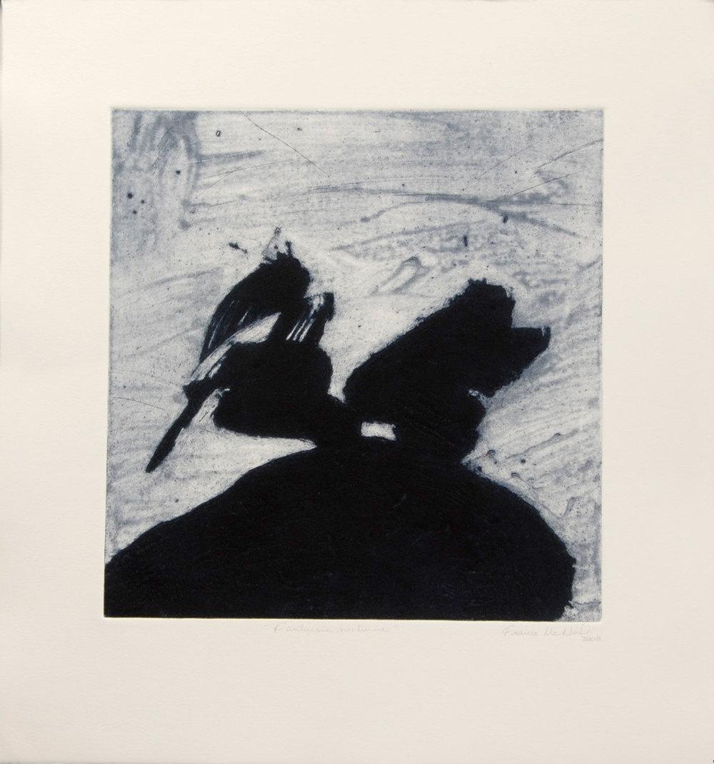 chevauchée lunaire, 56 x 54 cm