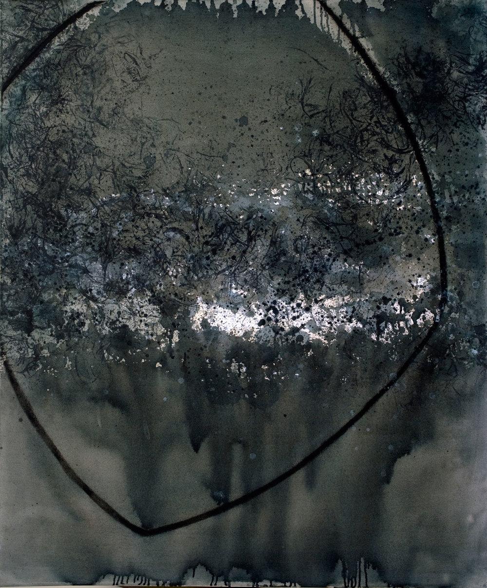 DE-712_jardin acrylique sur toile 122x101 cm