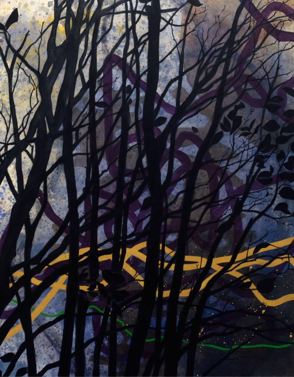 Errance  Acrylique sur toile  101 x76 cm