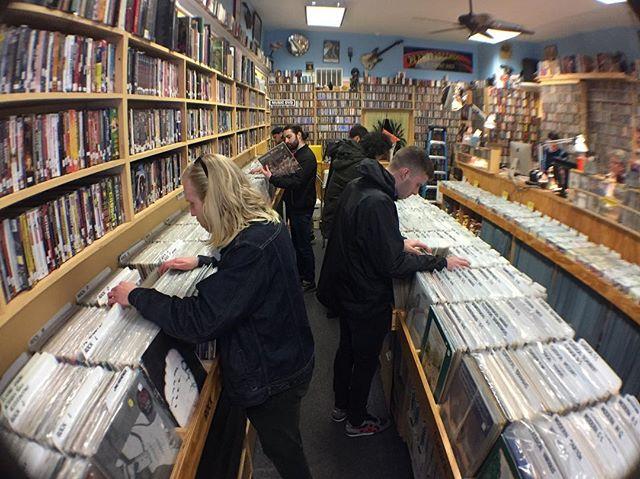 bar crawl record shop tour