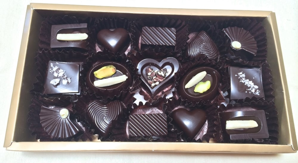 Classic Belgian chocolates are made with molds.