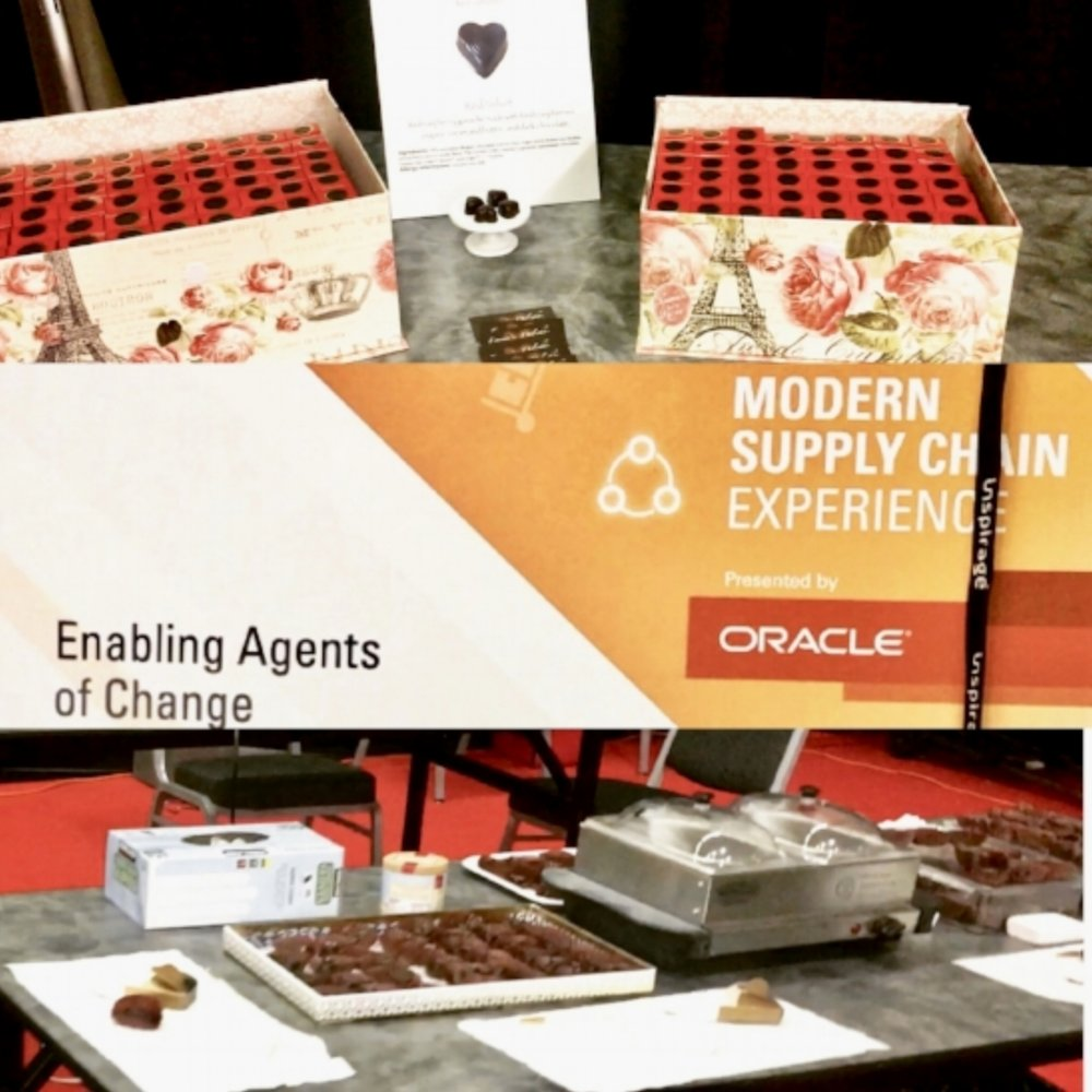 Corporate Gifts and Live Demos